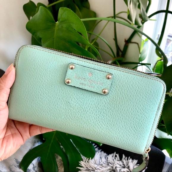 kate spade Handbags - ⬇️ $35 Kate Spade Lacey Wallet in Tiffany Blue